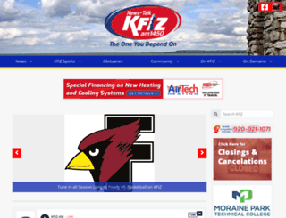 kfiz.com screenshot