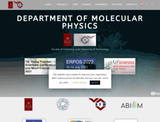 kfm.p.lodz.pl screenshot