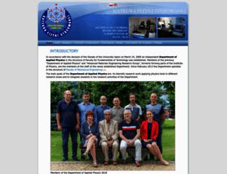 kfs.pollub.pl screenshot
