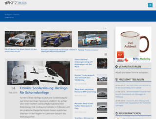 kfz-magazin.eu screenshot