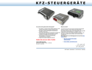 kfz-steuergeraete.de screenshot
