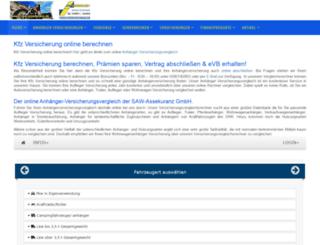 kfz-versicherung-online-berechnen.de screenshot