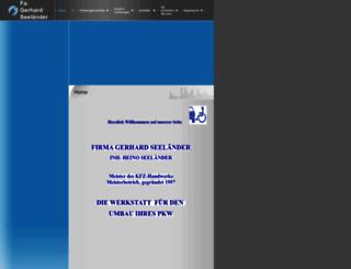 kfzumbau-seelaender.de screenshot