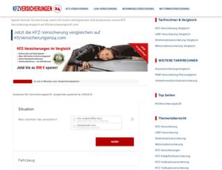 kfzversicherungen24.com screenshot