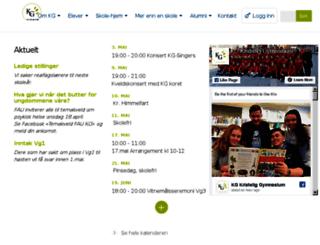 kg.vgs.no screenshot