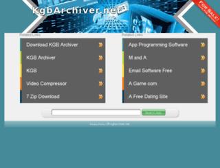 kgbarchiver.net screenshot