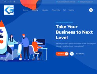 kgetechnologies.com screenshot