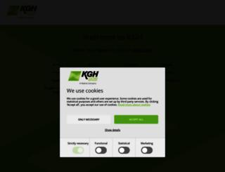 kghcustoms.com screenshot