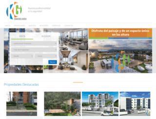 kginmobiliaria.com screenshot