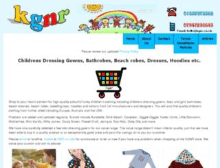 kgnr.co.uk screenshot