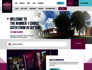 kgv.ac.uk screenshot