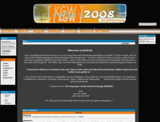 kgw08.de screenshot