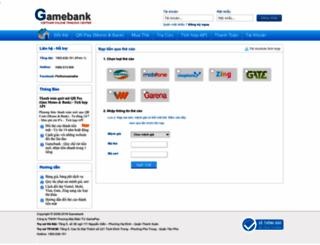 kh.gamebank.vn screenshot
