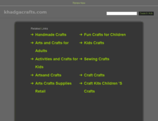 khadgacrafts.com screenshot