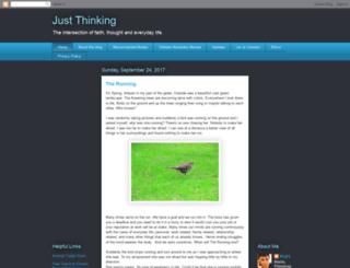 khael-justthinking.blogspot.com screenshot