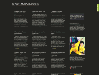khaidirmuhaj.blogspot.com screenshot