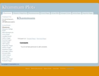 khammamplots.com screenshot
