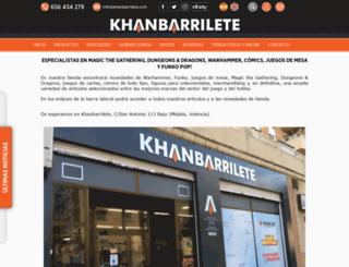 khanbarrilete-juguetes.com screenshot