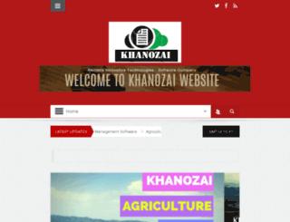 khanozai.org screenshot