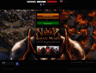 khanwars.sk screenshot