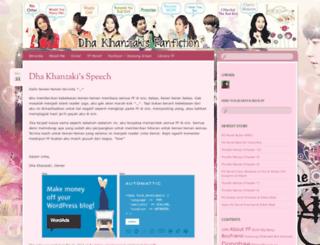 khanzakikyu.wordpress.com screenshot
