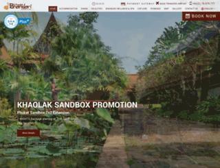 khaolakbhandari.com screenshot