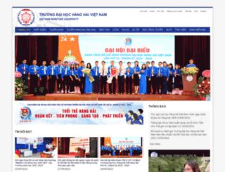 khaothi.vimaru.edu.vn screenshot