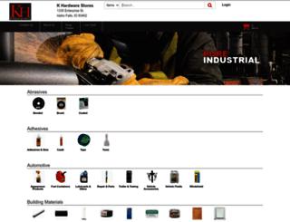 khardwarestores.com screenshot