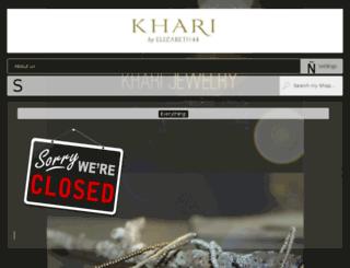 kharijewelry.etsythemeshop.com screenshot