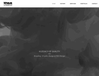 khaus.com screenshot