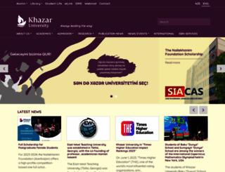 khazar.org screenshot