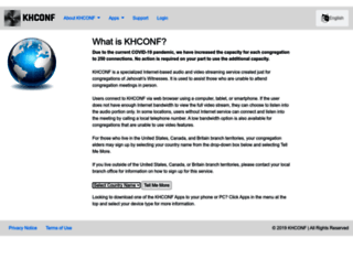 khconf.com screenshot