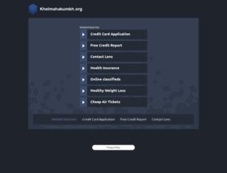 khelmahakumbh.org screenshot