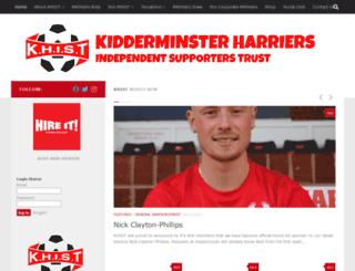 khist.org.uk screenshot