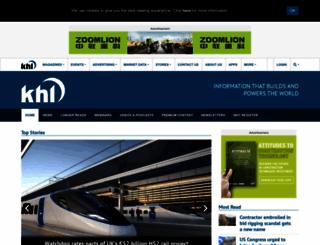 khl.com screenshot