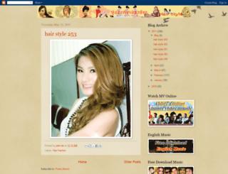 khmerhairstyle.blogspot.com screenshot