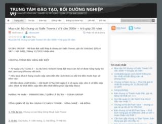 khoahocbatdongsan.wordpress.com screenshot