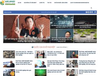 khoinghiep.org.vn screenshot
