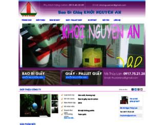 khoinguyenan.bizz.vn screenshot