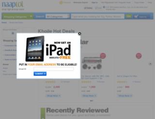 khojle.naaptol.com screenshot