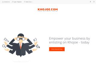 khojoe.com screenshot
