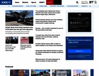 khou.com screenshot