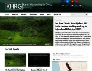 khrg.org screenshot