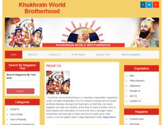 khukhrainworld.com screenshot