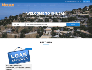 khusan.com screenshot