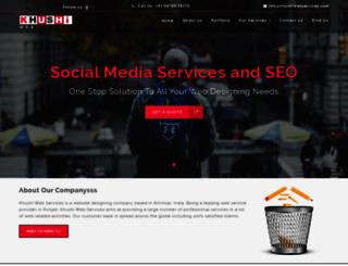 khushiwebservices.com screenshot