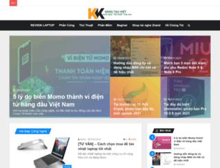 khuyenkhichsangtaoviet.net screenshot