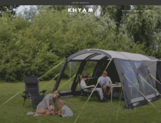 khyam.co.uk screenshot