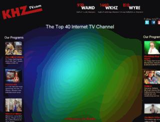 khztv.trackableresponsedemo.com screenshot