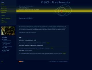 ki2009.uni-paderborn.de screenshot